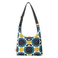 Scallop Flower Spot Medium Sling Bag Blue