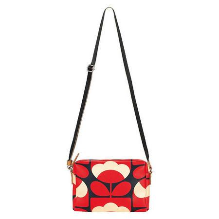 Spring Bloom Crossbody Bag Red