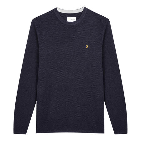 Ivan Crew Neck Sweater Blue