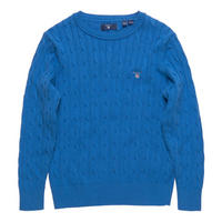 Boys Cable Knit Sweater Blue