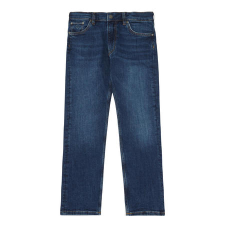 Boys Dark Wash Jeans Navy