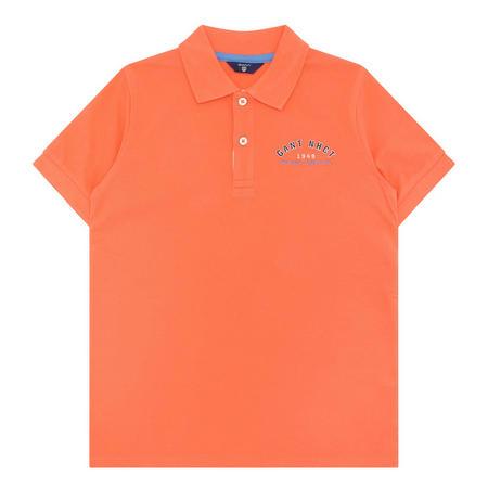 Boys NHCT Polo Shirt Orange