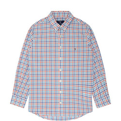 Boys Broadcloth Gingham Shirt Multicolour