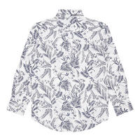 Boys Palm Leaf Shirt White