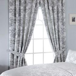 Cressida Curtain Silver