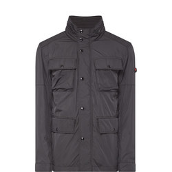 Strong Four-Pocket Field Jacket Black