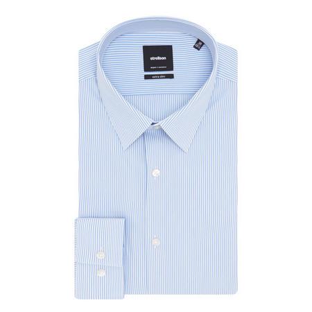 Aaron Stripe Shirt Black