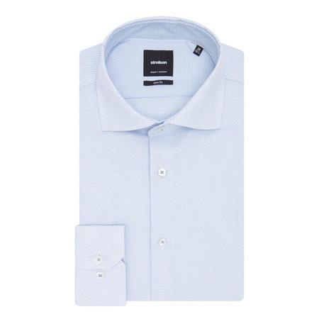 Sereno Textured Shirt Blue