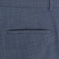 Extra Slim Fit Formal Trousers Blue