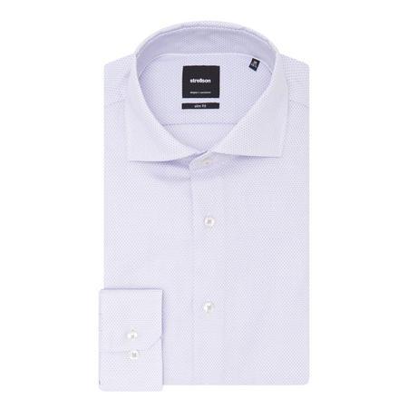 Sereno Textured Shirt Purple