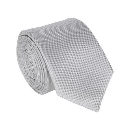 Textured Tie Silver-Tone