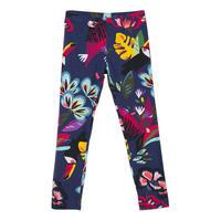Tropical Print Leggings Multicolour
