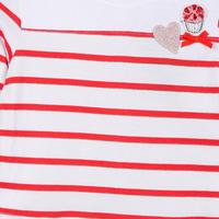 Lollipop Stripe Dress White