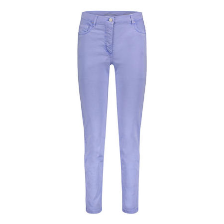 Aqua Blue Jeans Purple
