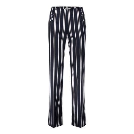Stripe Trousers Navy