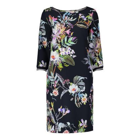 Midnight Floral Pencil Dress Multicolour
