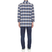 Oxford Check Shirt Blue