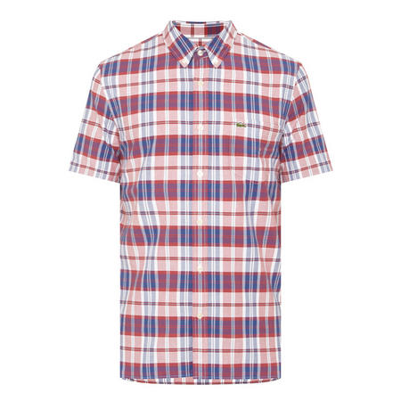 Oxford Check Shirt Red