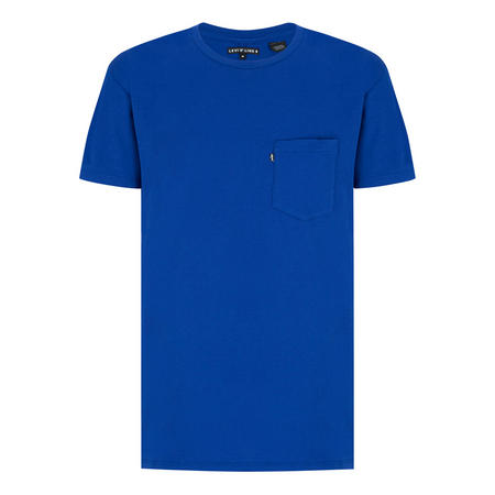 Line 8 Long Line Short Sleeve T-Shirt Blue