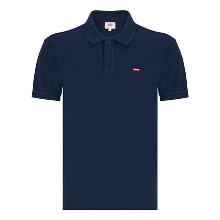 Housemark Short Sleeve Polo Shirt Navy