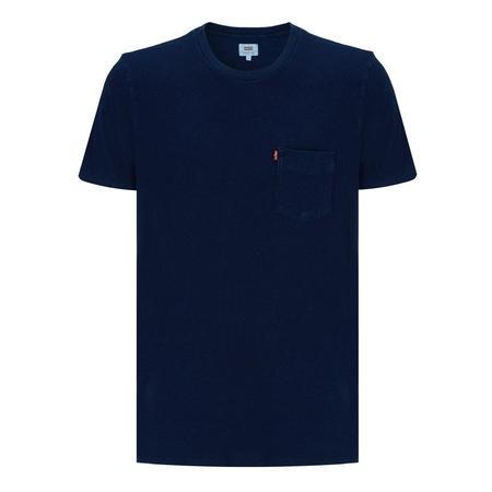 Sunset Pocket Short Sleeve T-Shirt Navy
