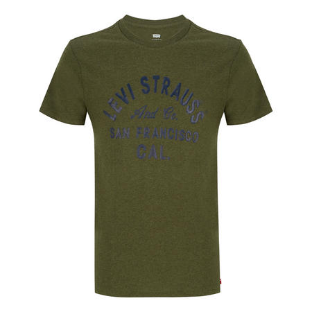 San Francisco Logo T-Shirt Green