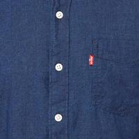 Grandad Collar Denim Shirt