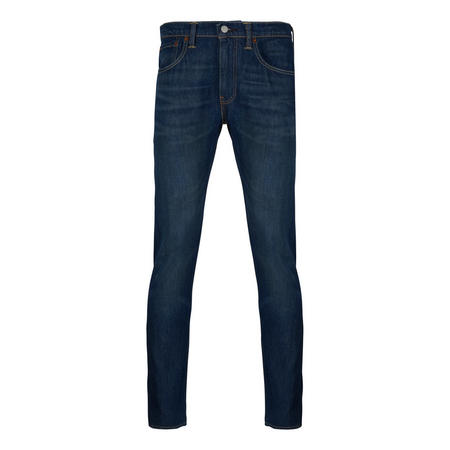 512 Slim Taper Fit Wrap Stretch Jeans Navy