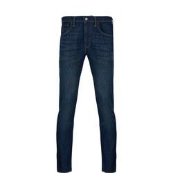512 Slim Taper Fit Wrap Stretch Jeans Navy