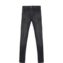 502 Regular Tapered Jeans Grey