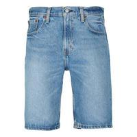 502 Regular Taper Fit Hemmed Shorts Blue
