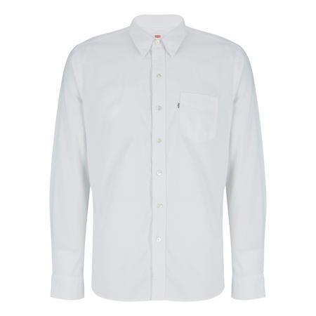 Sunset One Pocket Shirt White
