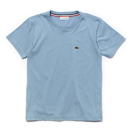 Boys Crew Neck Cotton Jersey T-Shirt Blue