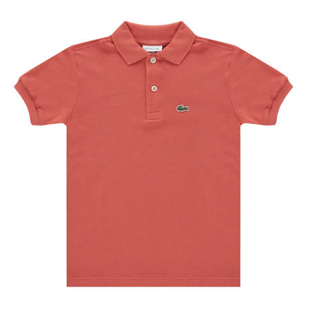 Boys Petit Pique Polo Shirt Red