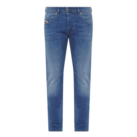 Belthar Tapered Fit Jeans Blue