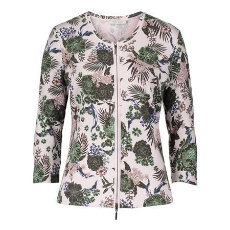 Botanic Zip Cardigan Multicolour
