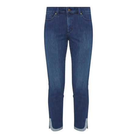 Ami Cropped Skinny Jeans Blue