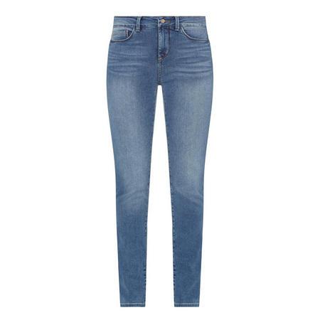 Uplift Alina Legging Jeans Blue