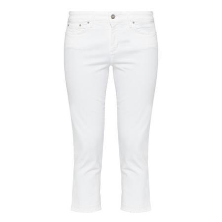 Capri Jeans White