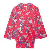 Girls Floral Pyjamas Pink