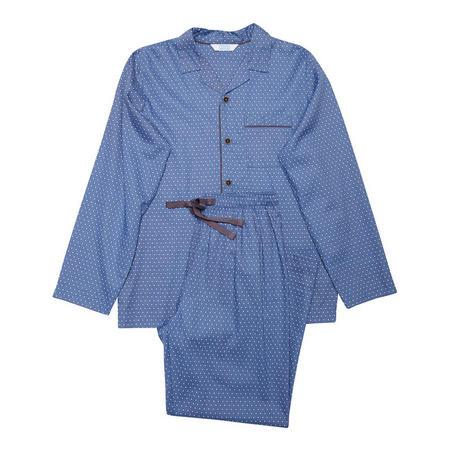 Boys Tile Print Pyjamas Blue