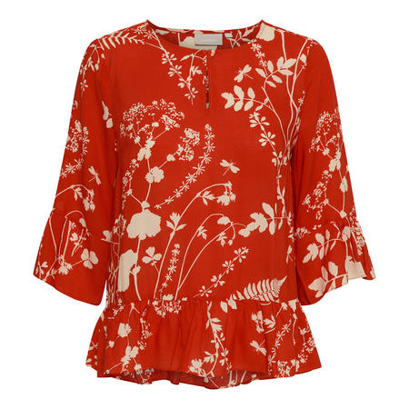 Roisin Blouse Red