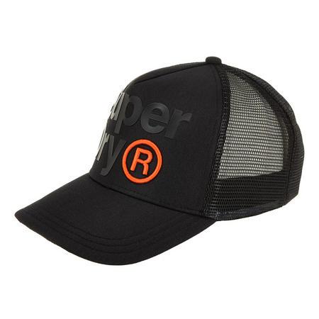 Lineman Trucker Cap Black