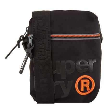 Lineman Super Side Bag Black