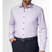 Contrast Lining Oxford Shirt