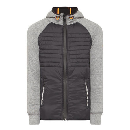 Gym Tech Hybrid Jacket Grey
