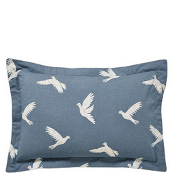 Paper Doves Oxford Pillowcase Navy