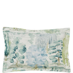 Waterperry Oxford Pillowcase Green