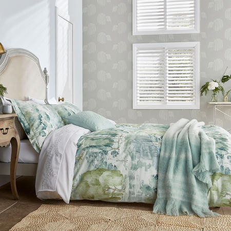 Waterperry Duvet Cover Green