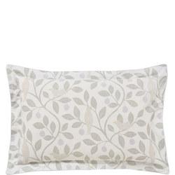 Damson Tree Oxford Pillowcase Grey